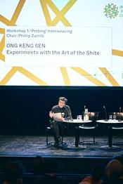 Performance director Ong Keng Sen.