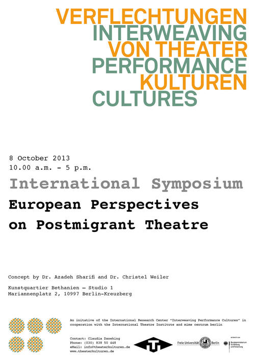 Poster of the International Symposium