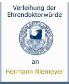 Hermann Niemeyer - Ehrenpromotion am 19.06.1954