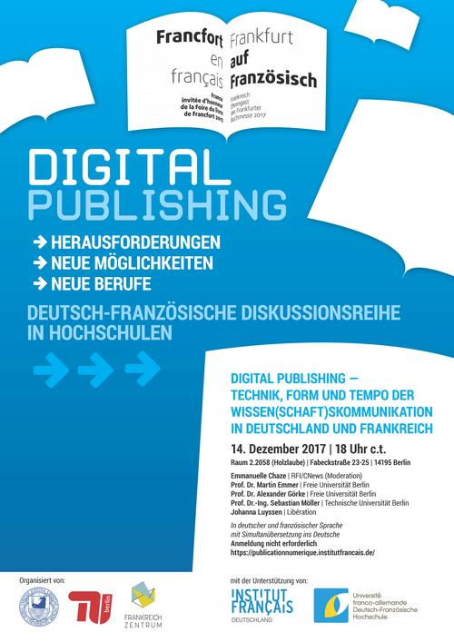 Internet Table ronde Digital Publishing