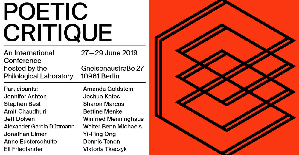 Conference: Poetic Critique