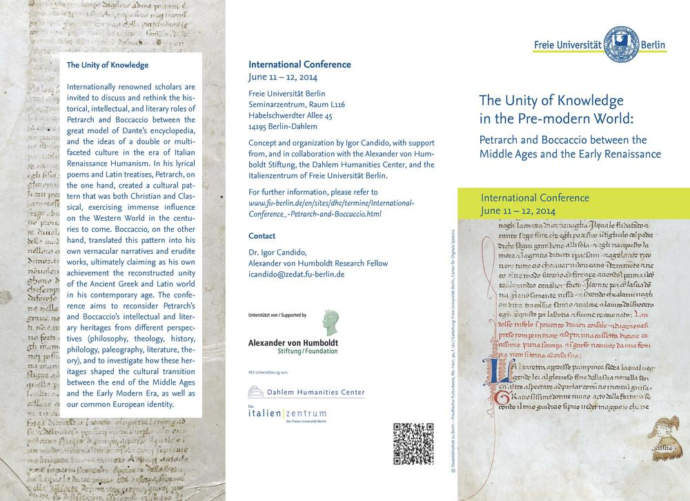 Flyer Unity of Knowledge_Seite_1