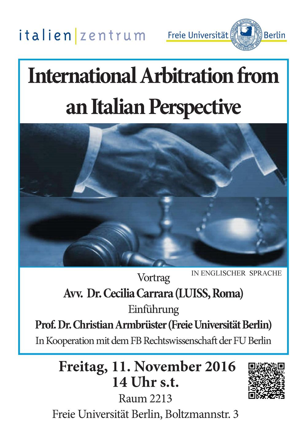 International Arbitration from an Italian Perspective