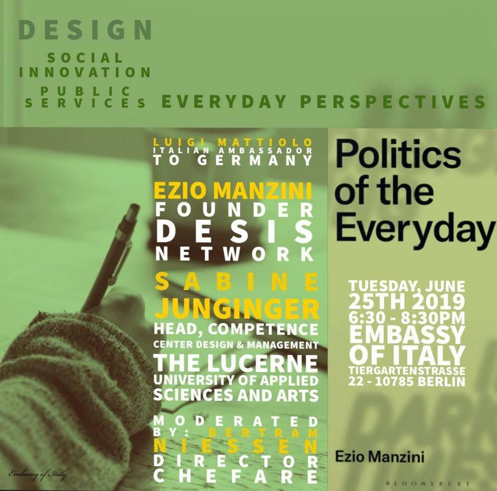 Design, Social Innovation, Public Services: Everyday Perspectives