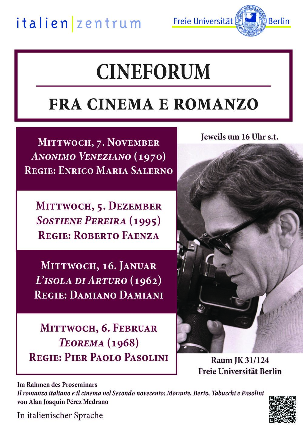 Flyer Cineforum