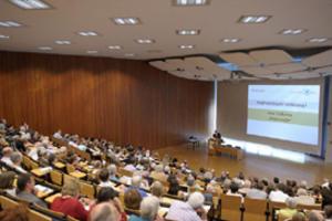 Uwe Tellkamp, Deutscher Buchpreisträger 2008, sprach über die Wirkungskraft von Fiktion - dem Wesen von Literatur
