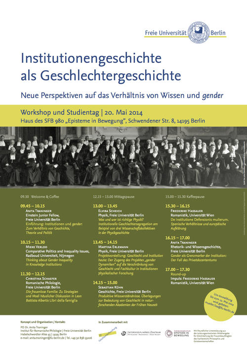 Institutionengeschichte-Plakat