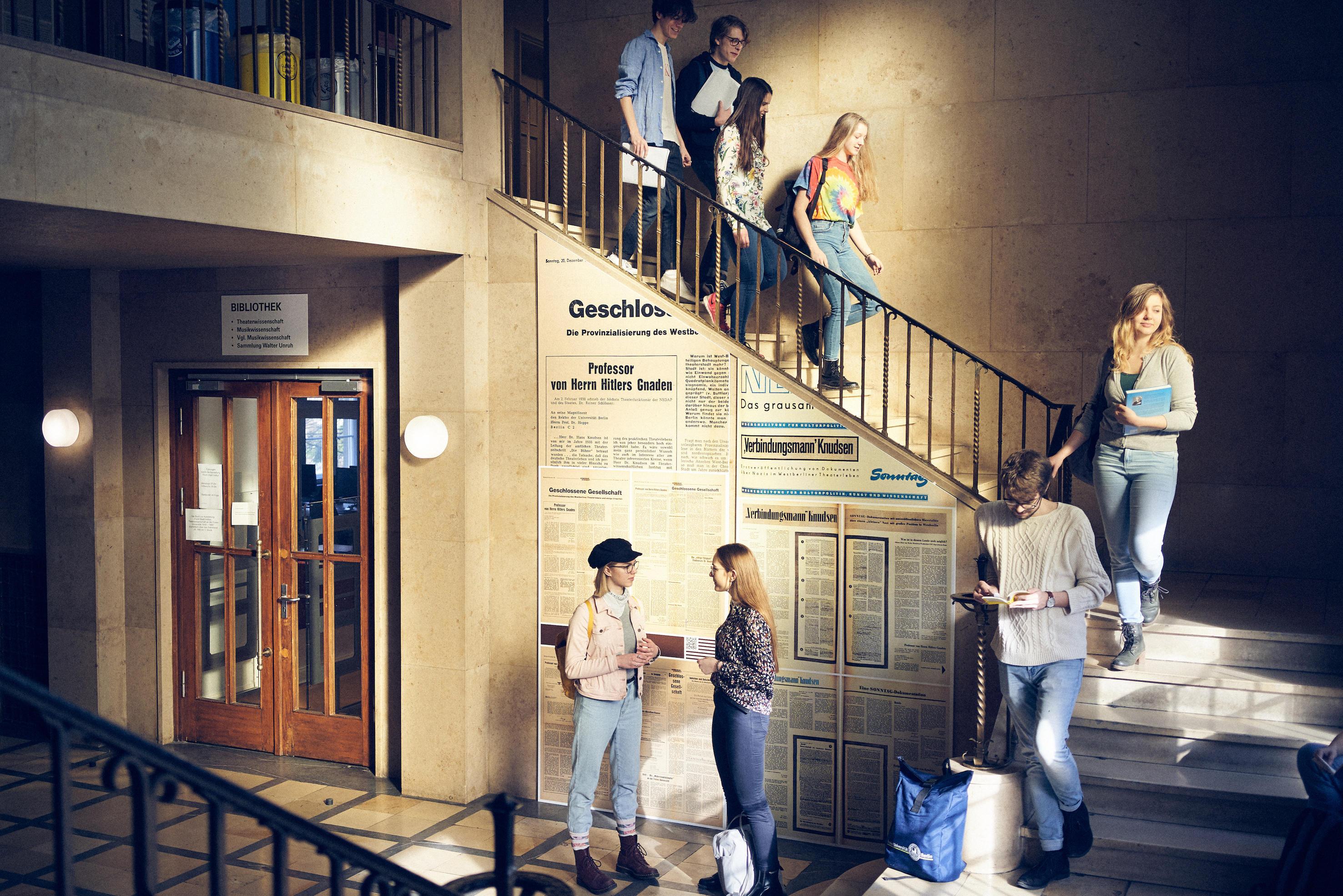 Theater Tanz Institut Für Theaterwissenschaft Fachbereich