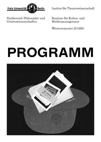KMM-Programmflyer WS 2019 (Download-Link s. unten)